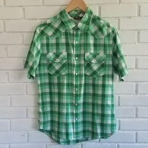 Hang Ten plaid shirt